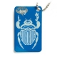 swiss bug (travel tag), blue, limited edition