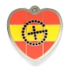 "my geoheart geocoin ""spain"" 